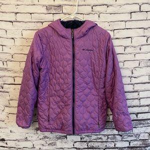 Columbia Quilted Fleece Jacket
